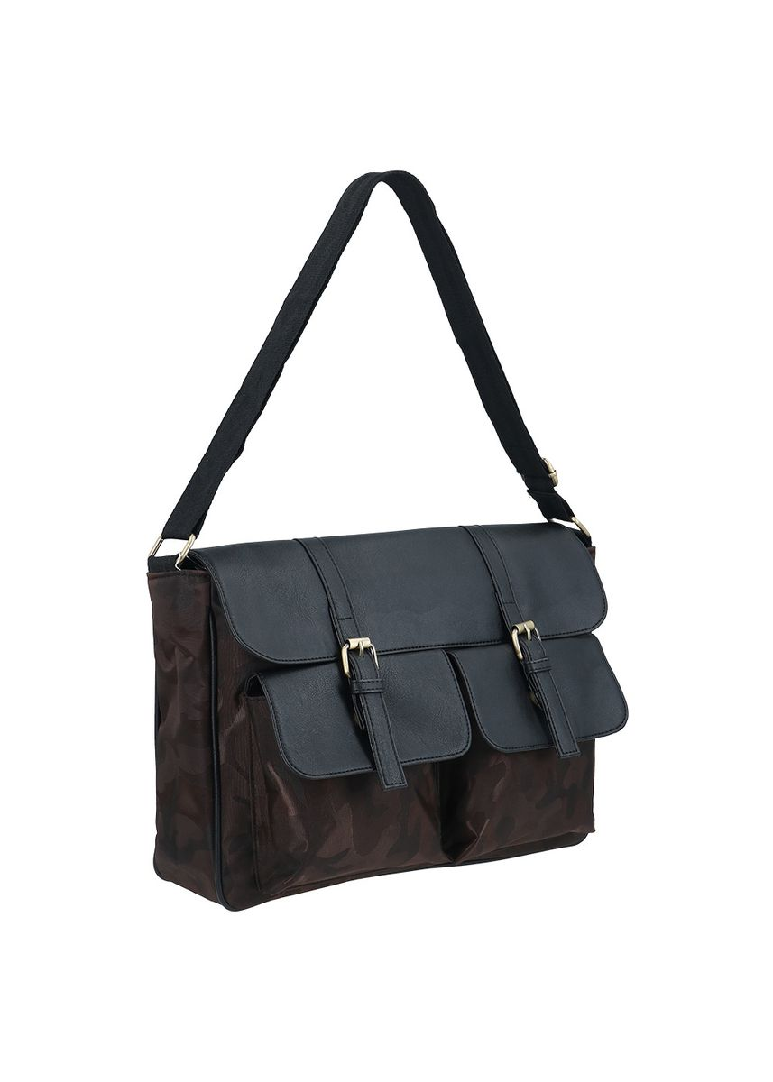 Brown color Messenger Bags . NAOKI By MAYONETTE Jackson Shoulder Bag -