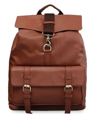 Tan color Ransel . NAOKI By MAYONETTE Tristan Backpack -