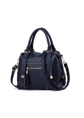Navy color Hand Bags . And Winter New Women's Bag Elegant Shoulder Fashion Casual -