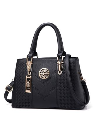 Black color Hand Bags . New Bag Female Big Fashion Handbags Slung Shoulder -