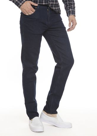 Biru Dongker color Celana Jeans . 2Nd RED Celana Jeans Slim Fit  Premium JH1903 -