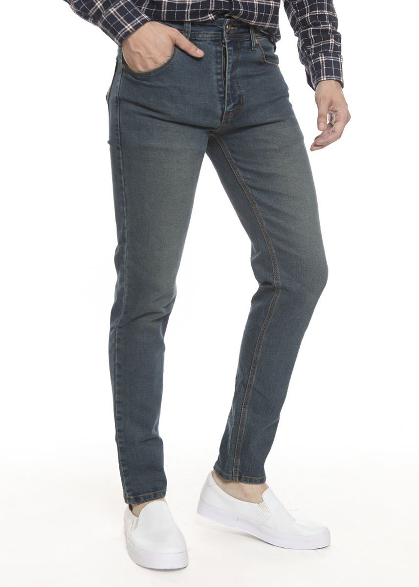 Grey color Jeans . 2Nd RED Celana Jeans Slim Fit Jeans Premium JH1905 -