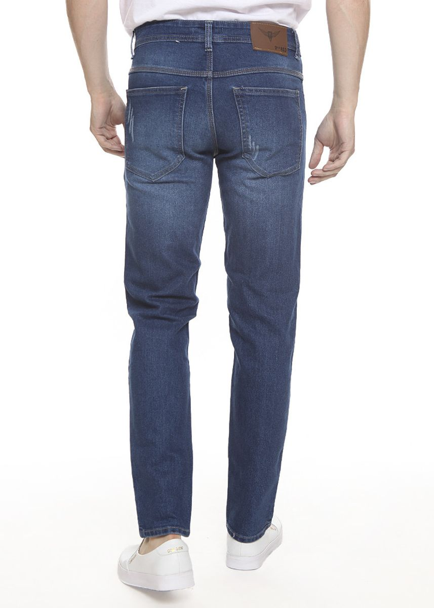 Blue color Jeans . 2Nd RED Celana  Jeans Slim Fit Premium JH1908 -