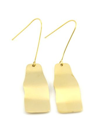 Emas color  . Art Fashion Premium Anting Korea 164 -