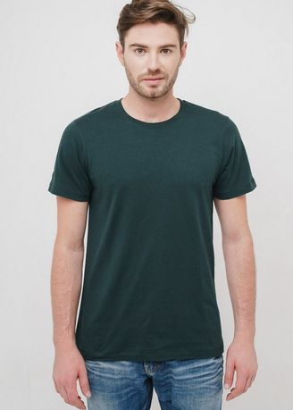 Green color T-Shirts and Polos . Greenlight Men Tshirt 801019 -