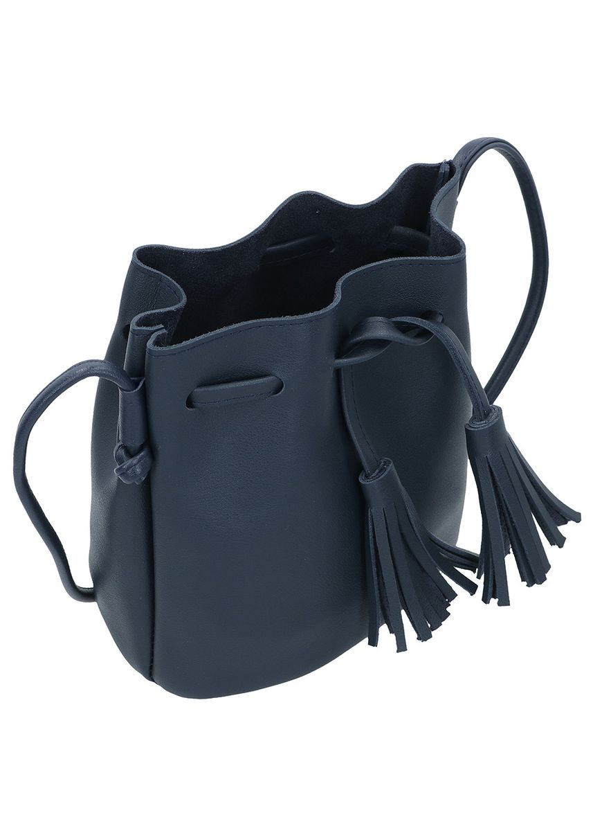 Navy color Sling Bags . MYNT By Mayonette Biana Mini Bucket Sling Bag -