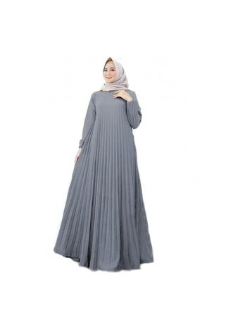 Grey color Dresses . Maxi Catrice -