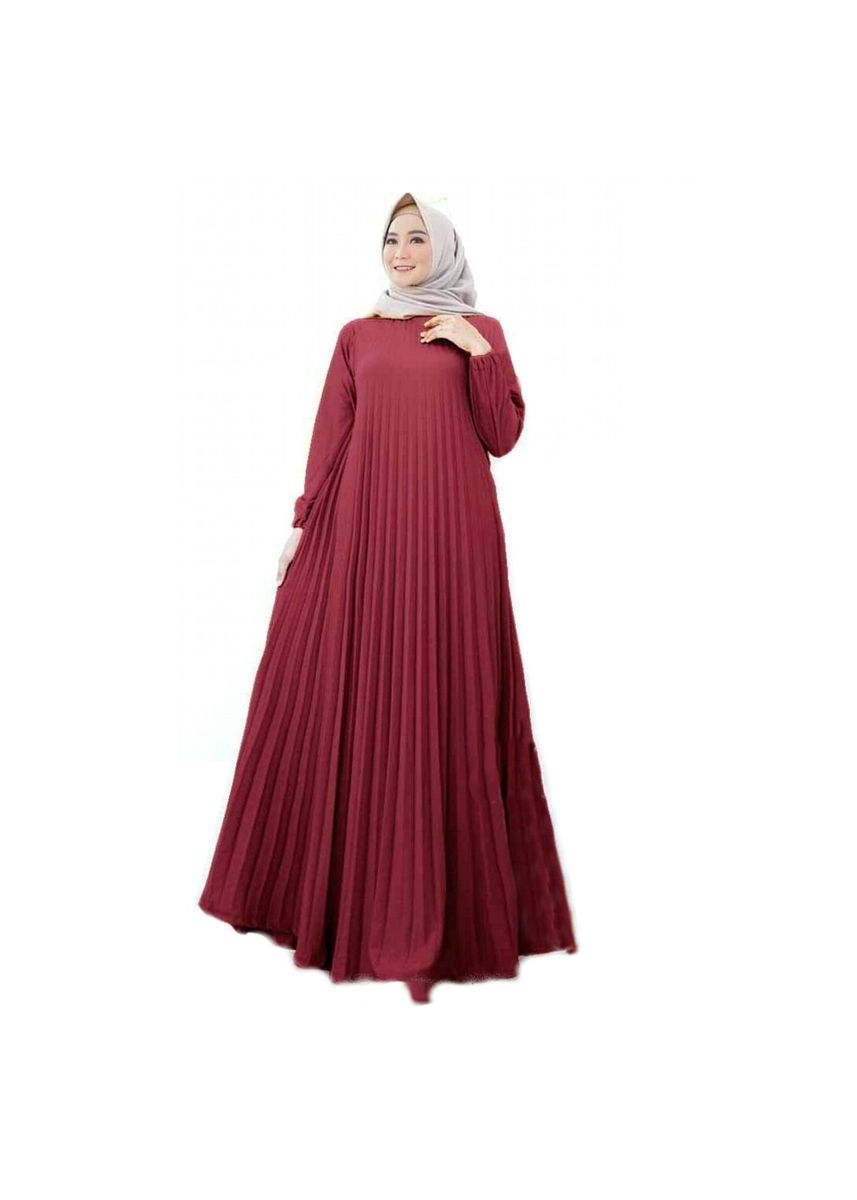 Maroon color Dresses . Maxi Catrice -