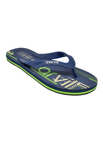 Navy color Sandals and Slippers . Carvil Sandal Pria Zavos M - Navy -