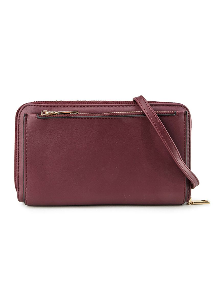 Maroon color Dompet & Clutch . GYKACO Dompet & Clutch Wanita - VANIA - Fashion Wallet & Clutch (Import) -