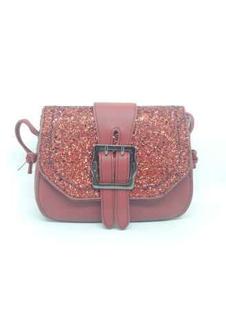Maroon color Tas Jinjing . MYNT By Mayonette Hilya Sling Bag -