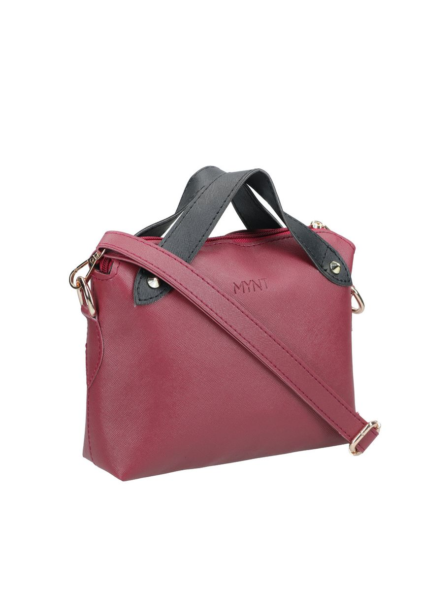 Maroon color Hand Bags . MYNT By Mayonette Findi Sling Bag -