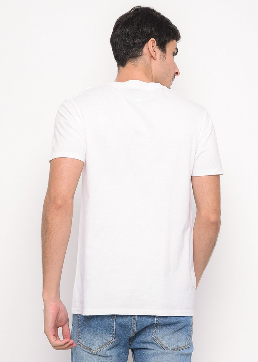 White color T-Shirts and Polos . White T-shirt with Doveci logo -