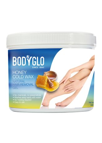 No Color color Personal Care . BodyGlo Honey Cold Wax 500 g. -