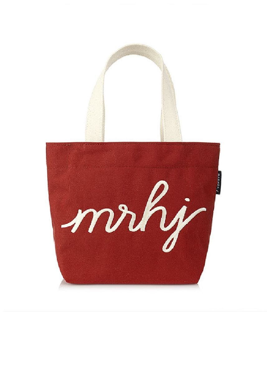 Red color Hand Bags . Marhen.J Funny Bag -
