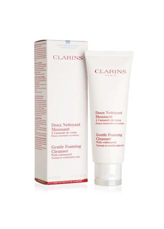 No Color color Face Wash . Clarins Gentle Foaming Cleanser (normal Combination) 125ml -