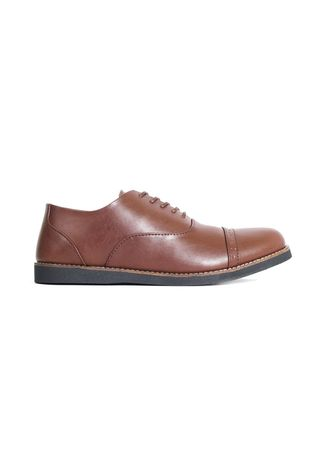 Brown color Formal Shoes . Sepatu Formal Pria Oxford Brown -