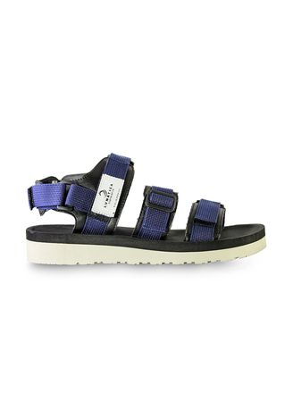 Blue color Sandals and Slippers . Sandal Casual Pria Alto Navy -