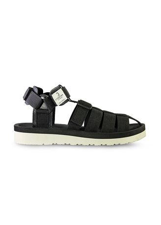 Hitam color Sandal . Sandal Casual Pria Marvin Black -