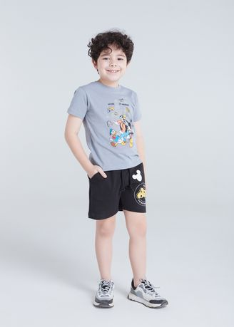 เทา color เสื้อ . Official Disney Mickey and Friends Home of Merrier T-shirt -