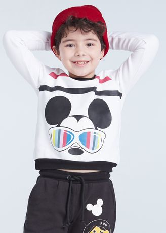 White color Jackets . Official Disney Mickey and Friends Cool Eye wear Sweater -