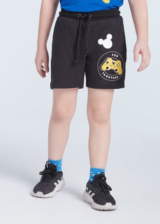 Black color Bottoms . Official Disney Mickey and Friends Fun Together Short -