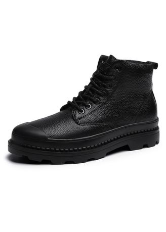 Black color Boots . Men's Classical Motorcycle Boots -