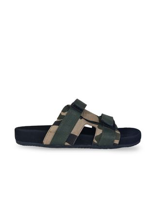 Multi color Sandal . Sandal Casual Pria Camus Army -