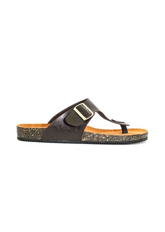 Brown color Sandals and Slippers . Sandal Casual Pria Zayn Brown -