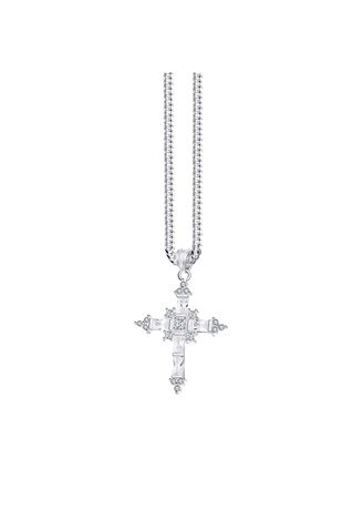 . Morning Star Originals 925 Italy Silver Necklace And Pendant -