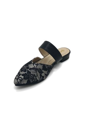 Black color Flats . GYKACO AVRIL - Sepatu Flat Shoes Wanita - Fashion Balerina Shoes (Import) -