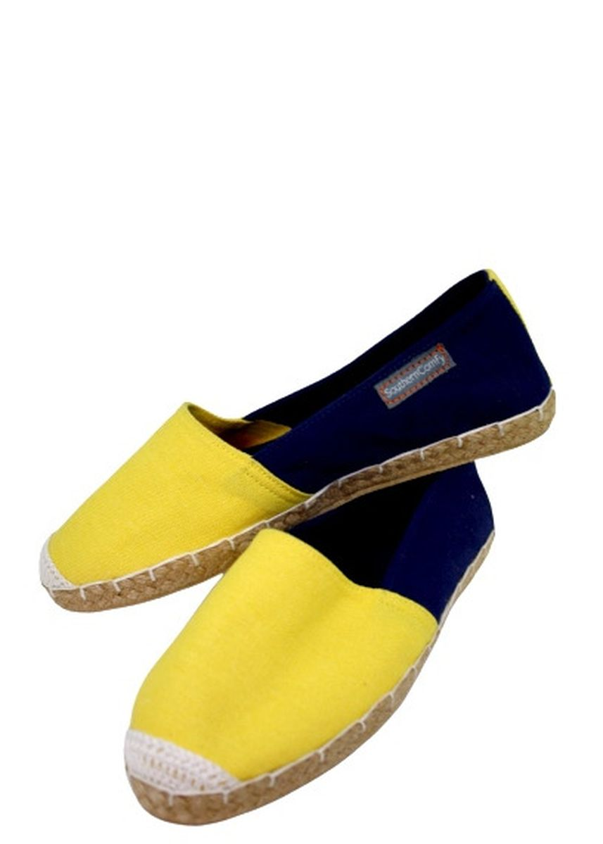 Multi color Casual Shoes . Southern Comfy Flounder Two Toned Espadrille -