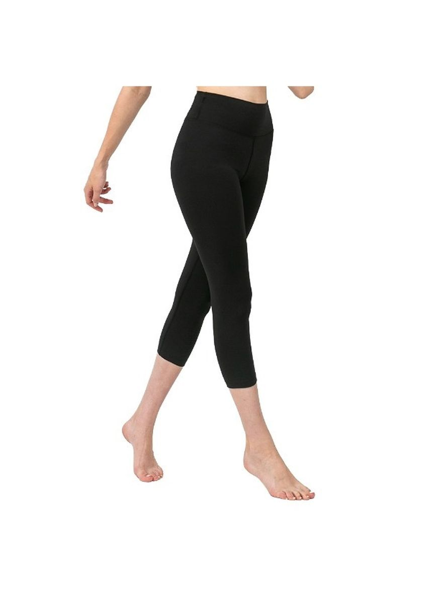 Black color Leggings . Nokjok New Basic 7bu Capri Leggings -