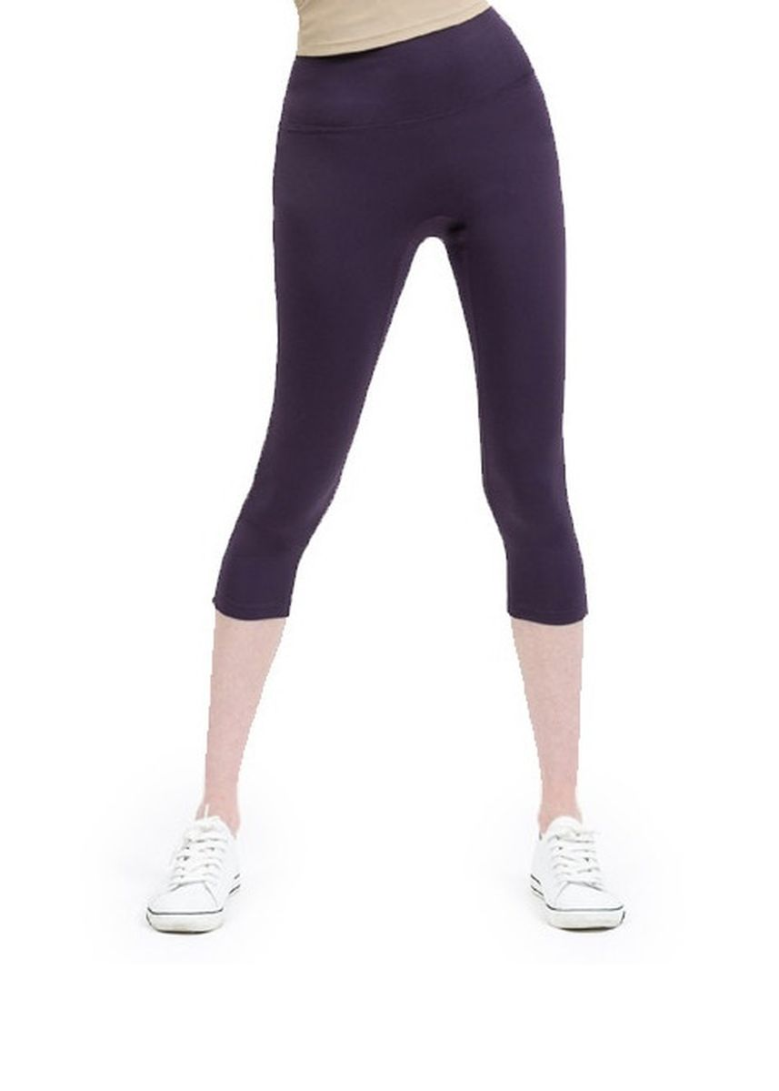 Purple color Leggings . Nokjok Jennie 7bu Capri Leggings -