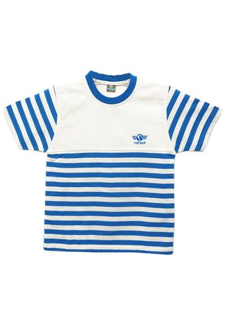 Putih color Atasan . Natawa T'shirt oblong Anak Anak & youtboy Cream Biru -