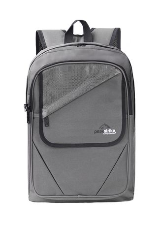 Light Grey color Backpacks . Kings Bags And Cases กระเป๋าสะพายหลัง รุ่น Schooler -