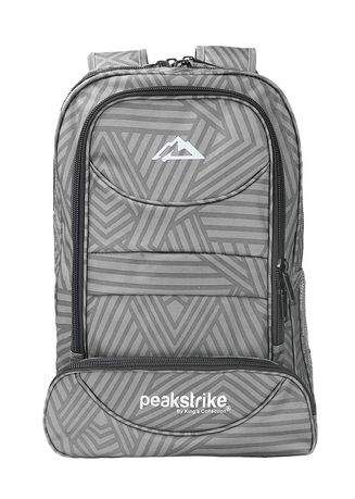 Grey color Backpacks . Kings Bags And Cases กระเป๋าสะพายหลัง รุ่น Vesuvius Multipurpose -
