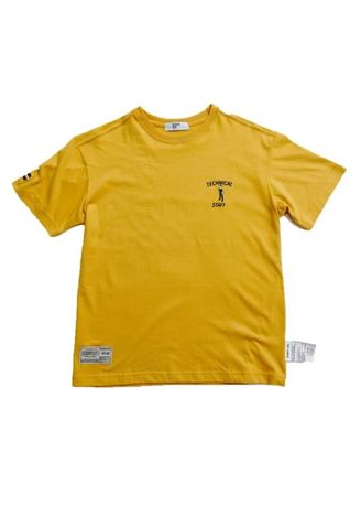 Yellow color  . Staff Co. Steve Z Classic Tee -