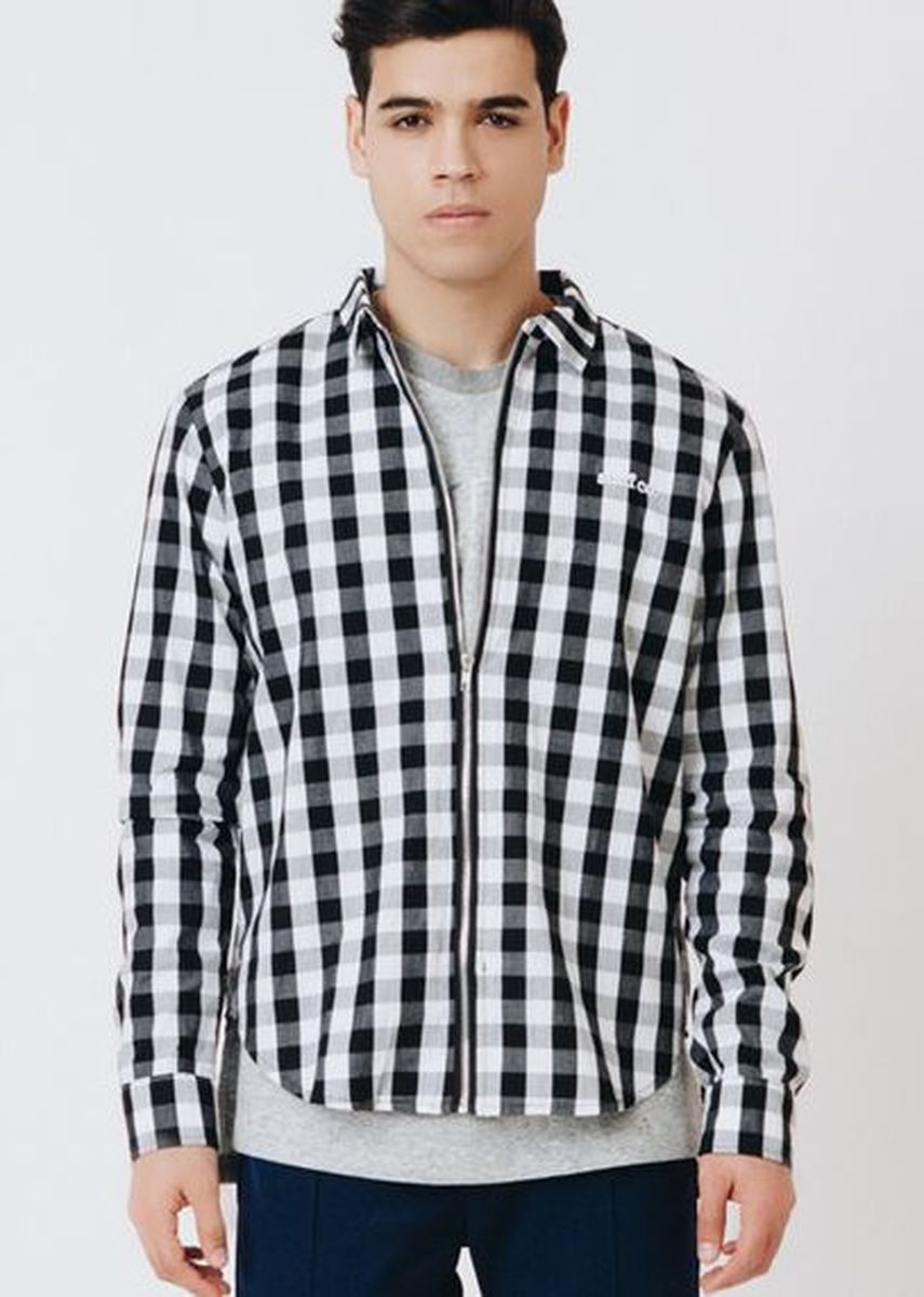 Multi color  . Staff Co. Clint Checkered Zippered -