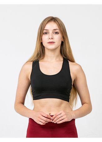 Black color Bras . Nokjok Sports Bra -