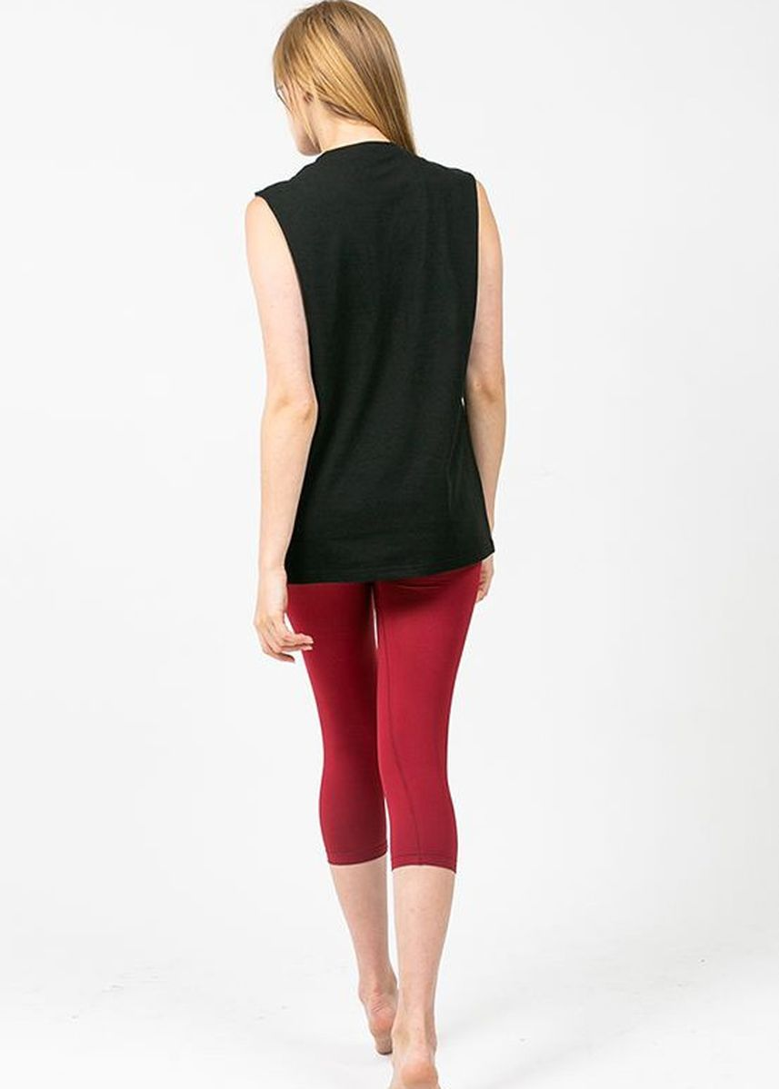 Black color Tops and Tunics . Nokjok Breeze Sleeveless Top -