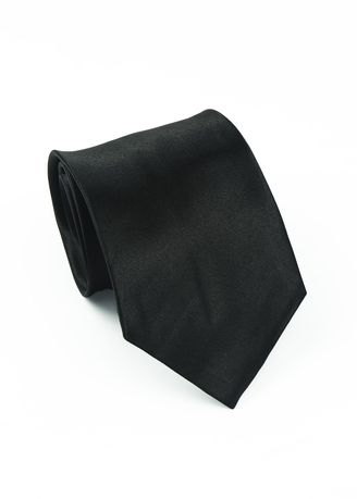 Black color Ties . IDENTITY Men's Hand Made Woven Necktie -