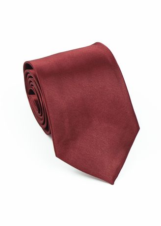 Maroon color Ties . IDENTITY Men's Hand Made Woven Necktie -