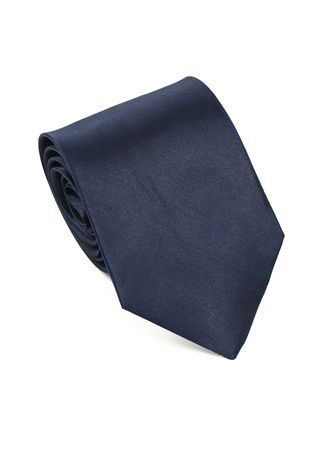 Navy color Ties . IDENTITY Men's Hand Made Woven Necktie -