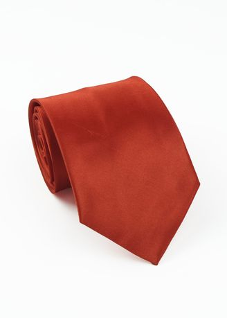 Red color Ties . IDENTITY Men's Hand Made Woven Necktie -