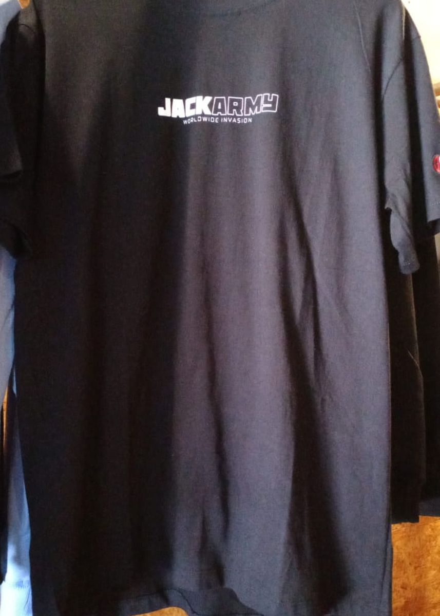 Multi color T-Shirts and Polos . T-Shirt Jack Army 1 -