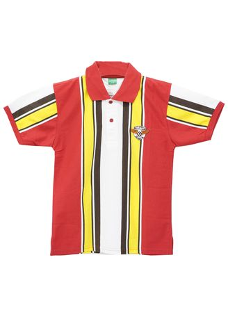 Red color Tops . Natawa Kerah Anak Junior Merah Kuning -