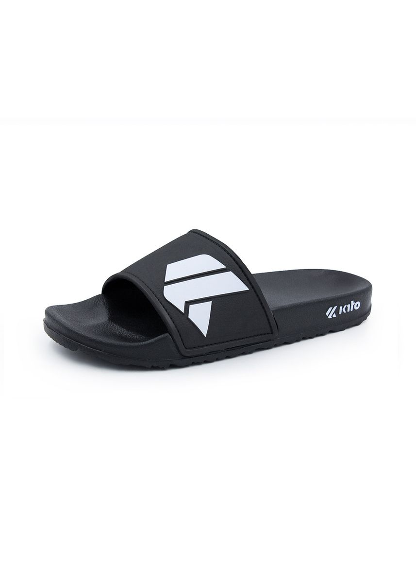 Black color Sandals and Slippers . Kito Dance รองเท้าแตะ AH21 -