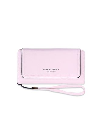 Pink color Wallets and Clutches . Cute Simple Wallet -