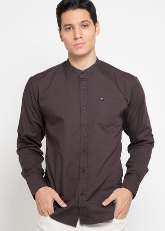 Brown color Casual Shirts . Carmin Brown -
